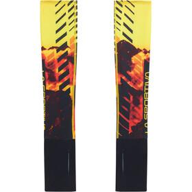 La Sportiva Stasis Chauffe-bras Homme, black/yellow